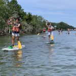 standup paddle board long creek